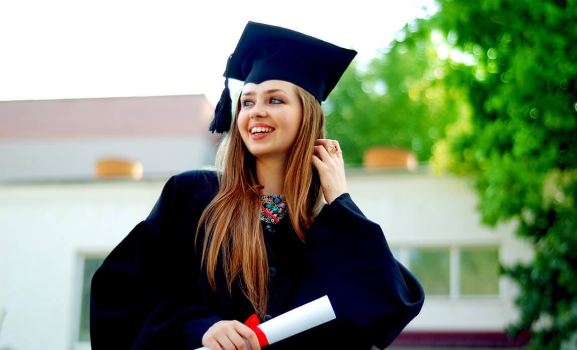 graduate girl